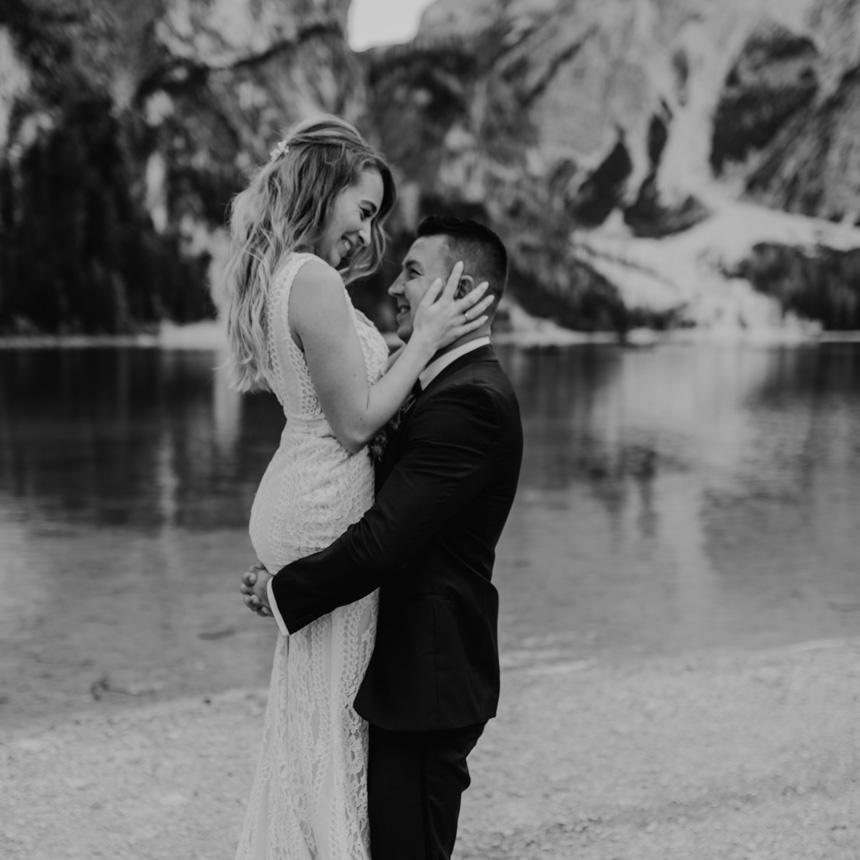After-wedding-fotoshooting-südtirol-lago-di-braies-elopement-hochzeit-zu-zweit