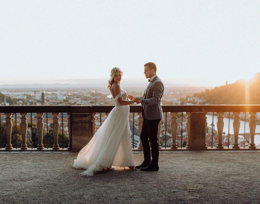 After Wedding Fotoshooting in Heidelberg.